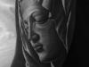 La Pieta Tattoo by Carlos Macedo