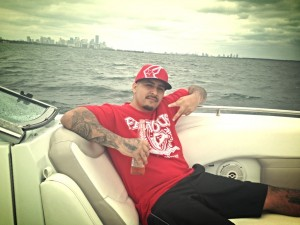 Carlos on the boat tour