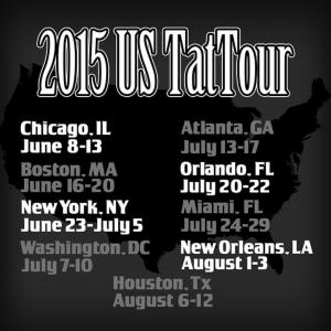 Carlos Macedo U.S. TatTour 2015